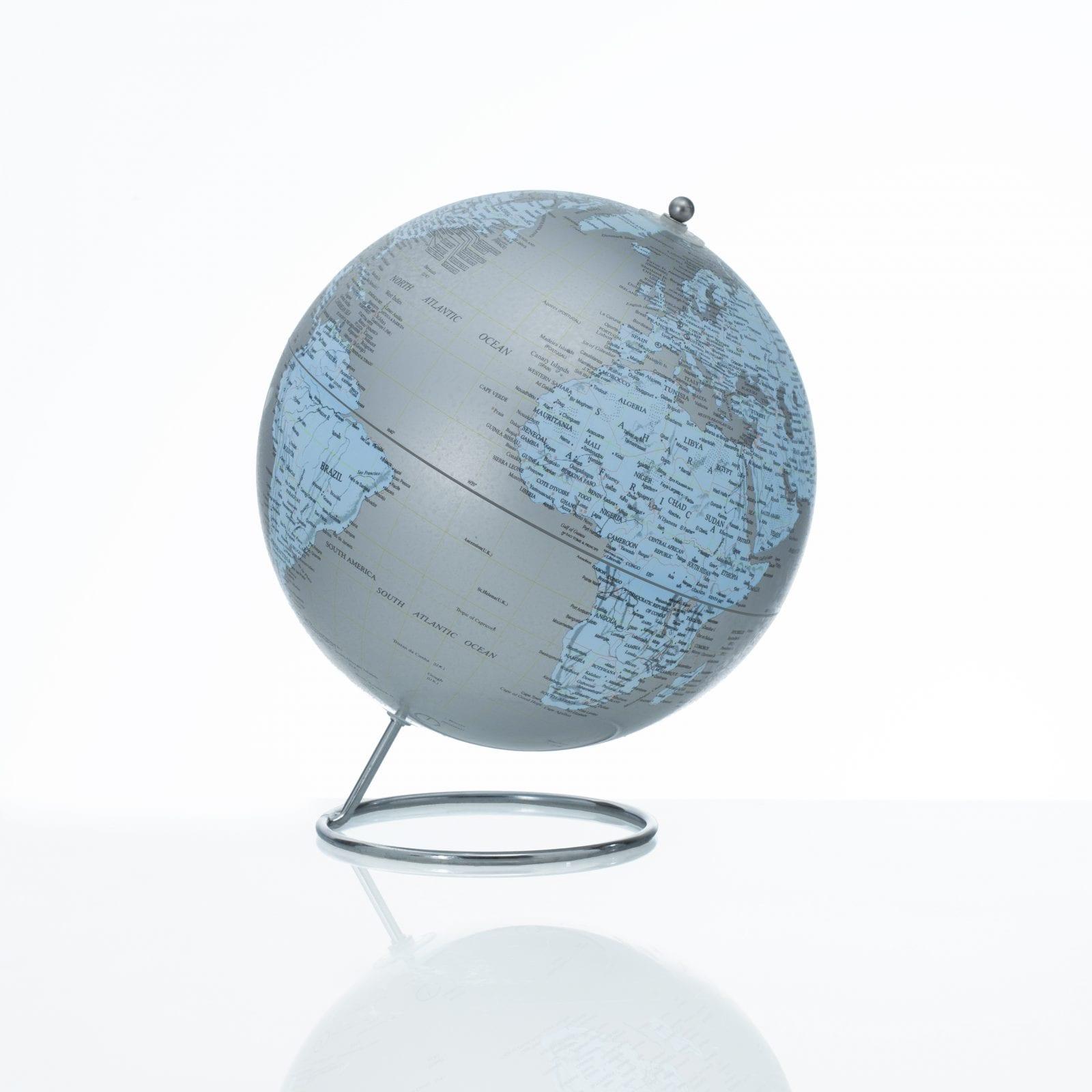 Dekorativni Globus Earth O 25x30cm Modry Bonder